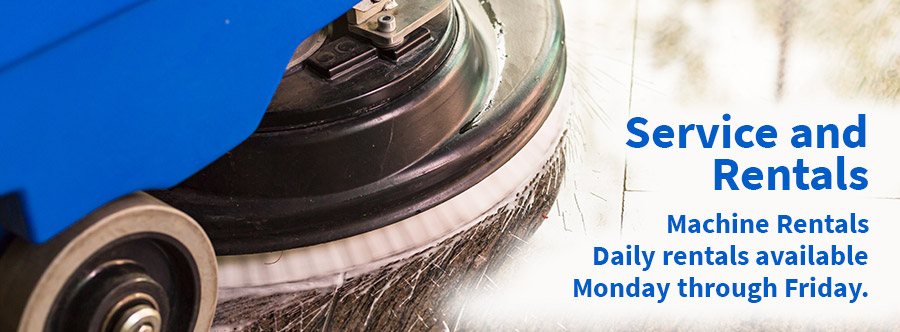 Rent your Deep Cleaning Machines with Mission Janitoral